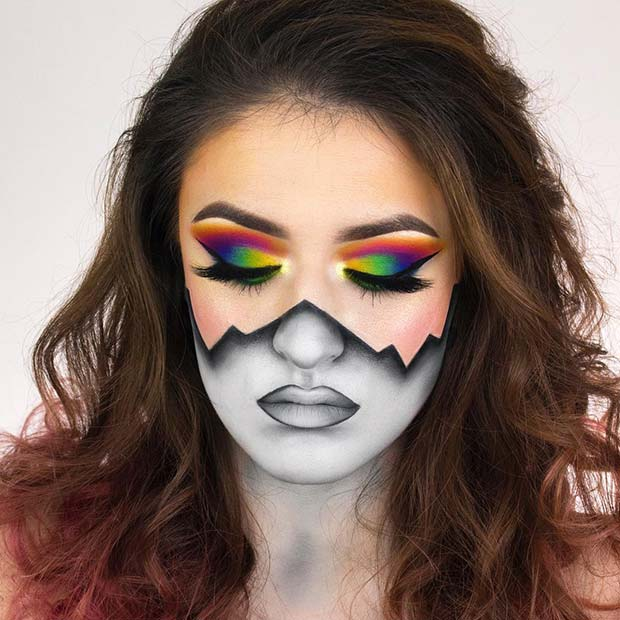 23 Best Halloween Makeup Ideas | StayGlam
