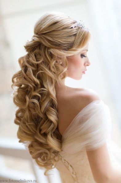 Romantic wedding hair ideas you will love (79) | Wedding | Wedding