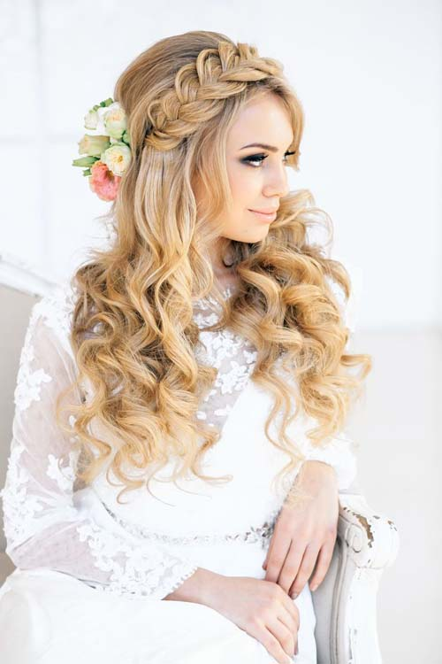 20 Wedding Hair Ideas with Flowers