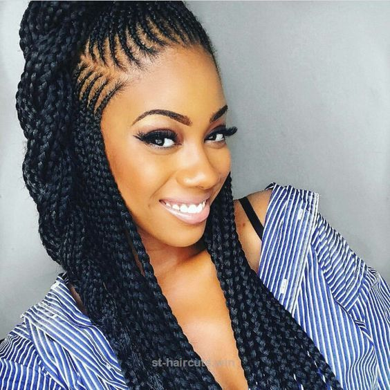 Cool 2018 Braided Hairstyle Ideas for Black Women. Looking for some
