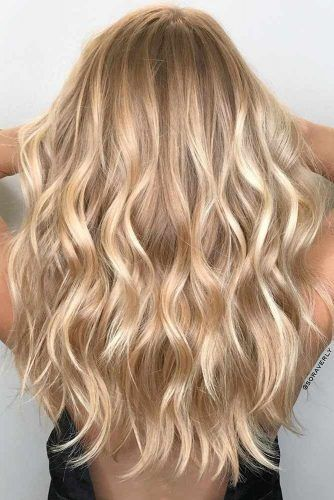 24 Bombshell Ideas for Blonde Hair with Highlights | Hair Color