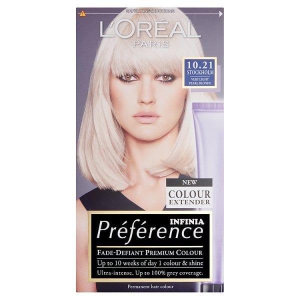 Preference 10.21 Stockholm Very Light Pearl Blonde Hair Dye | Superdrug