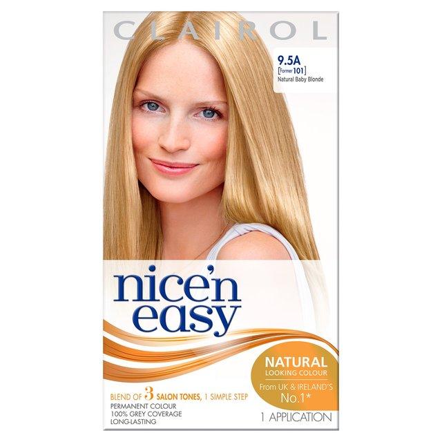 Nice n Easy Hair Dye Natural Baby Blonde 9.5A from Ocado