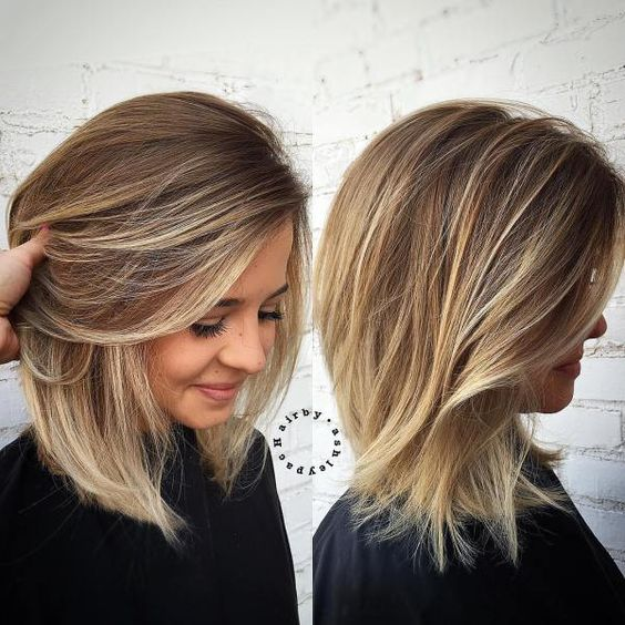10 Best Medium Length Blonde Hairstyles u2013 Shoulder Length Hair Ideas