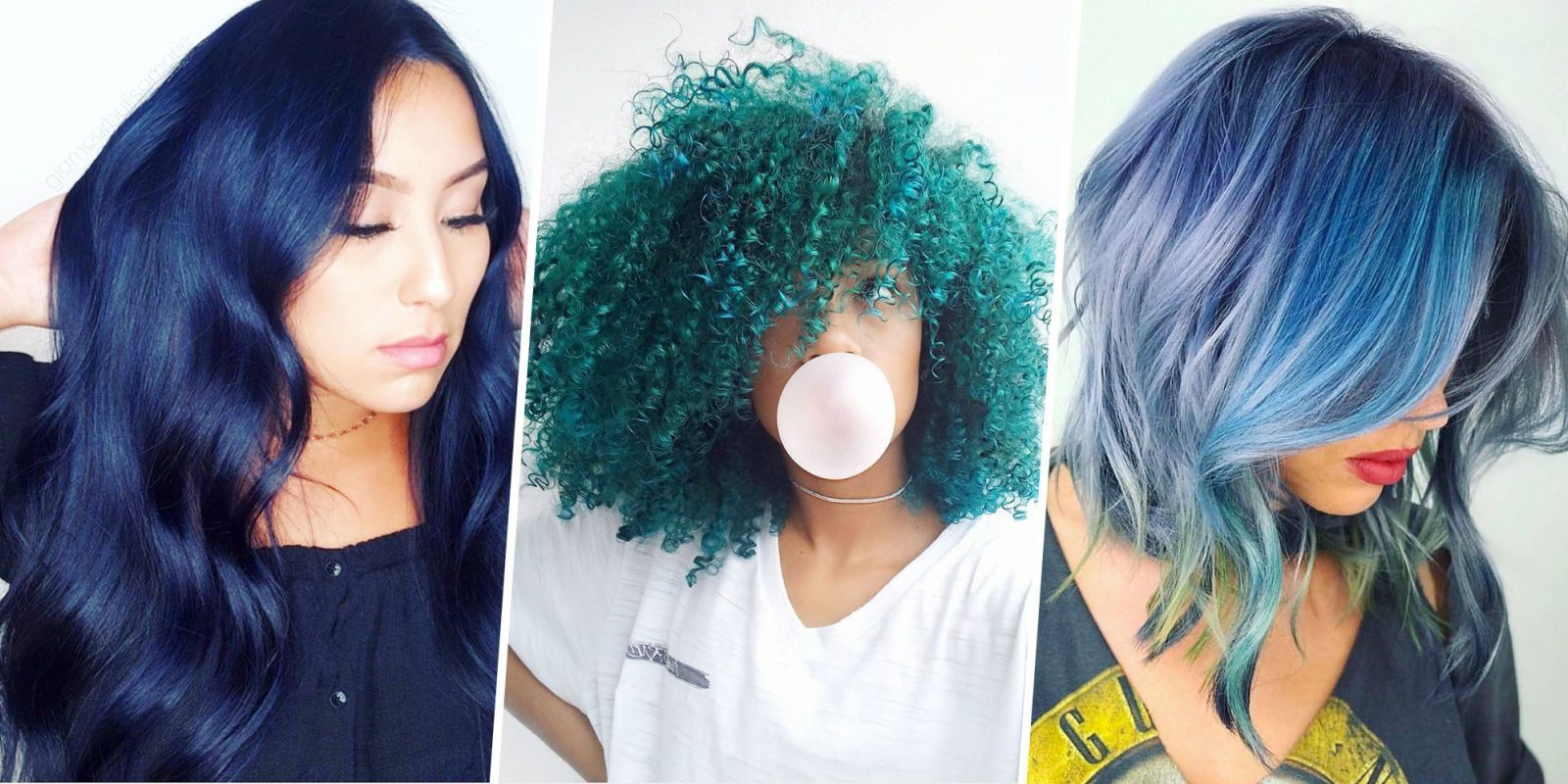 15 Best Blue Hairstyle Ideas - Pretty and Cool Blue Hair Inspo Pics