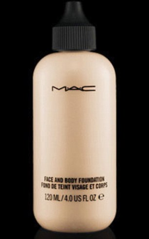 Secret to Caroline Flack's perfect legs? A bottle of MAC body
