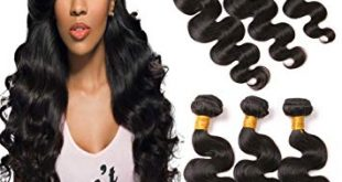 Amazon.com : Brazilian Hair 3 Bundles Body Wave 14 16 18 Inches