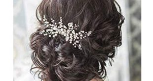 Amazon.com : Venusvi Wedding Crystal Hair Comb Bridal Hair