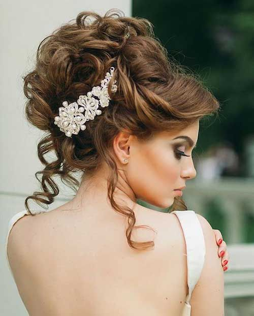 20.Wedding Hairstyle | hair | Pinterest | Wedding Hairstyles, Hair