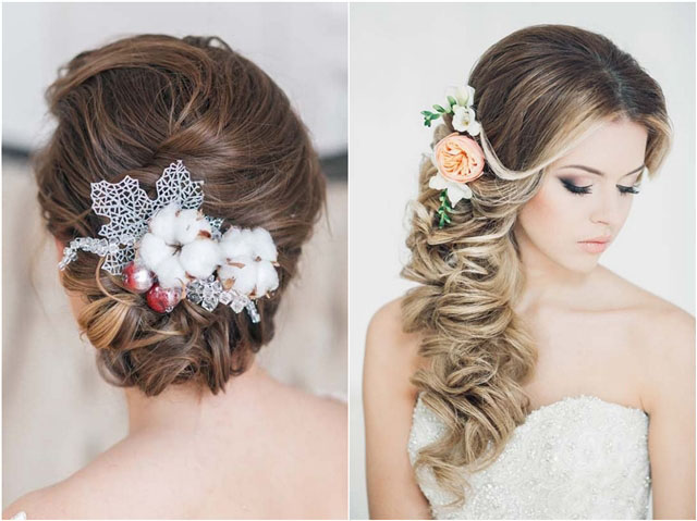 Top 30 Long Wedding Hairstyles for Bride from Art4studio | Deer