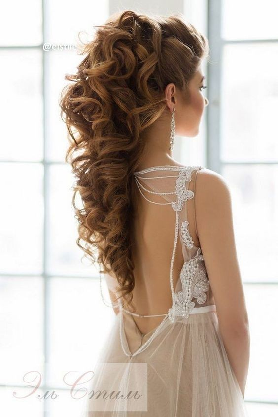 10 Beautiful Wedding Hairstyles for Brides - Femininity Bridal
