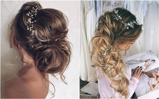 65 New Romantic Long Bridal Wedding Hairstyles to Try | Deer Pearl