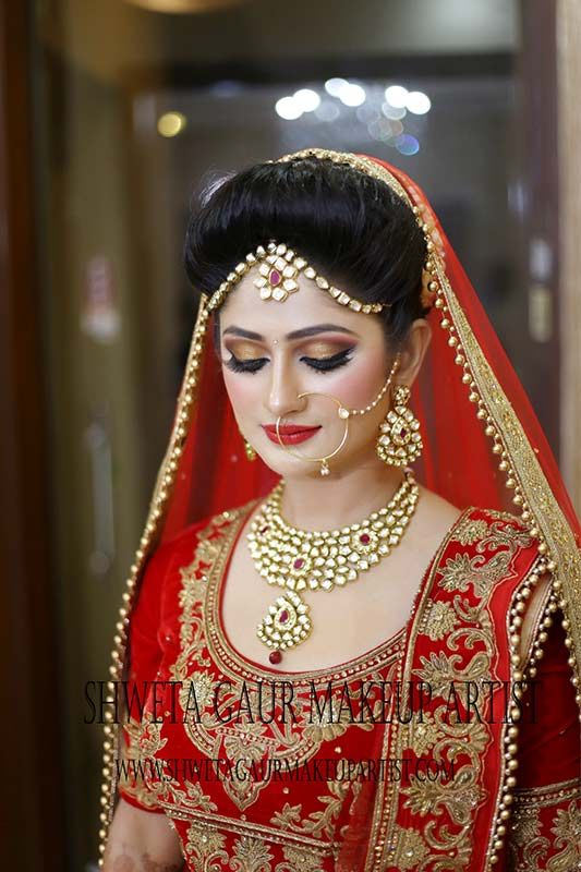 How will you be able to get the perfect bridal makeup?