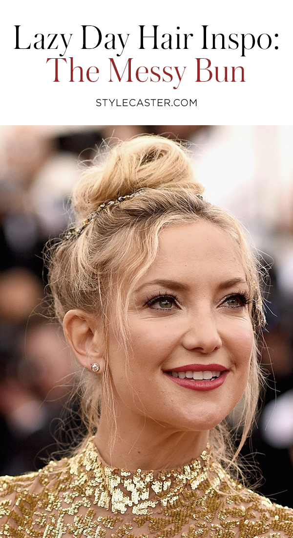 20 Messy-Bun Hairstyles to Inspire You All Year | StyleCaster