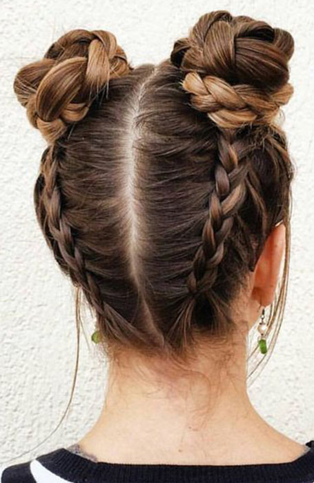 20 Stylish Bun Hairstyles That You Will Want to Copy - The Trend Spotter