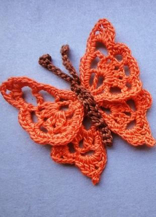 Crochet pattern PDF crochet pattern Butterfly Crochet tutorial