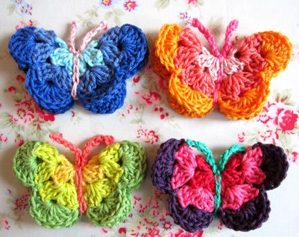 50+ Free Crochet Butterfly Patterns ⋆ Crochet Kingdom