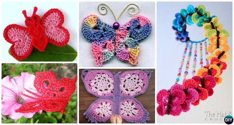 Crochet Butterfly Free Patterns