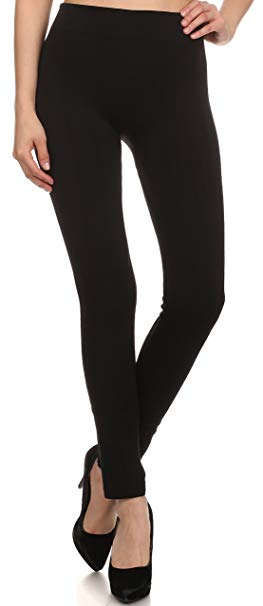 Sakkas Cable Knit Fleece Lined Leggings at Amazon Women's Clothing
