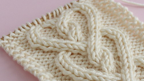Ravelry: Cable Heart pattern by Kristen McDonnell