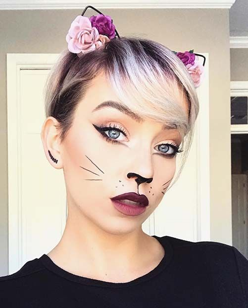 21 Easy Cat Makeup Ideas for Halloween | For Special Holidays