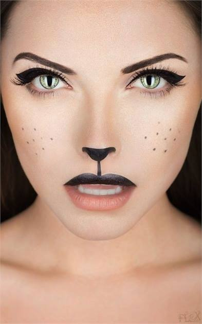 Halloween How-To: Black Cat Makeup - News - Modern Salon