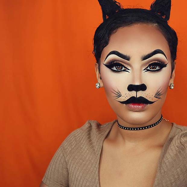 21 Easy Cat Makeup Ideas for Halloween | Page 2 of 2 | StayGlam