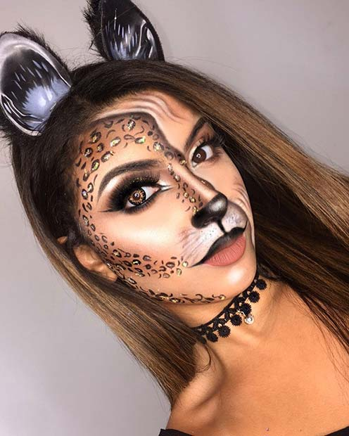 21 Easy Cat Makeup Ideas for Halloween | StayGlam