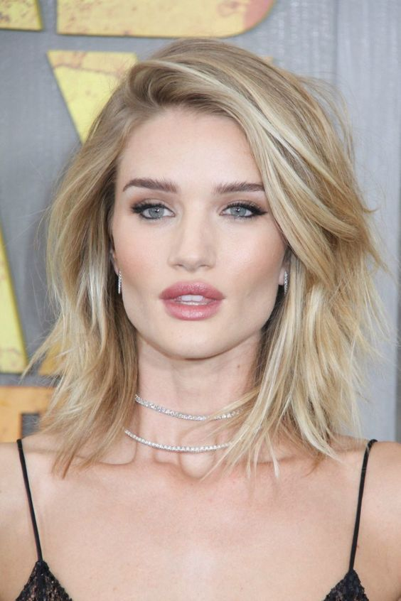 Best Celebrity Hairstyles - Bobs and Lobs to Gush Over | Hair style