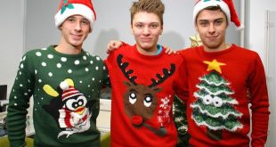 FREE Christmas jumper knitting pattern in the Weekend magazine's