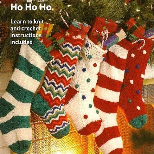 Free Knitted Xmas Stocking Pattern | Free Knitting Patterns