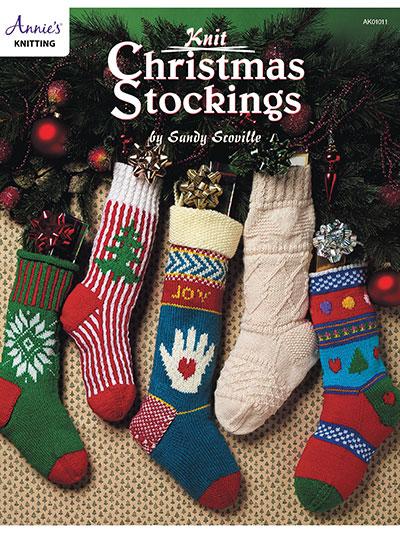 Seasonal Knitting Patterns - Knit Christmas Stockings
