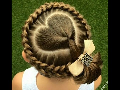 Little Girls Hairstyles : Cool Hairstyles For Girls - YouTube