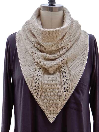 New Knitting Patterns - Cowboy Cowl Knit Pattern