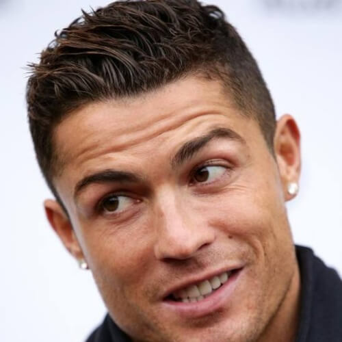 50 Athletic Cristiano Ronaldo Hairstyles - Men Hairstyles World