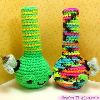 Ravelry: Bong Crochet Amigurumi pattern by CraftyTibbles