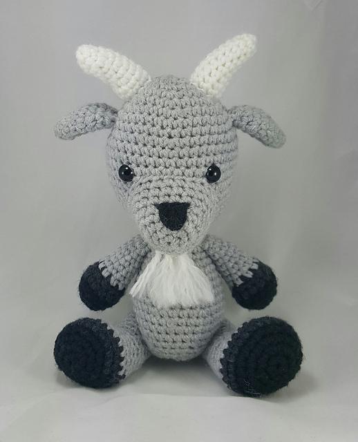 Ravelry: Goat Amigurumi pattern by Megan A