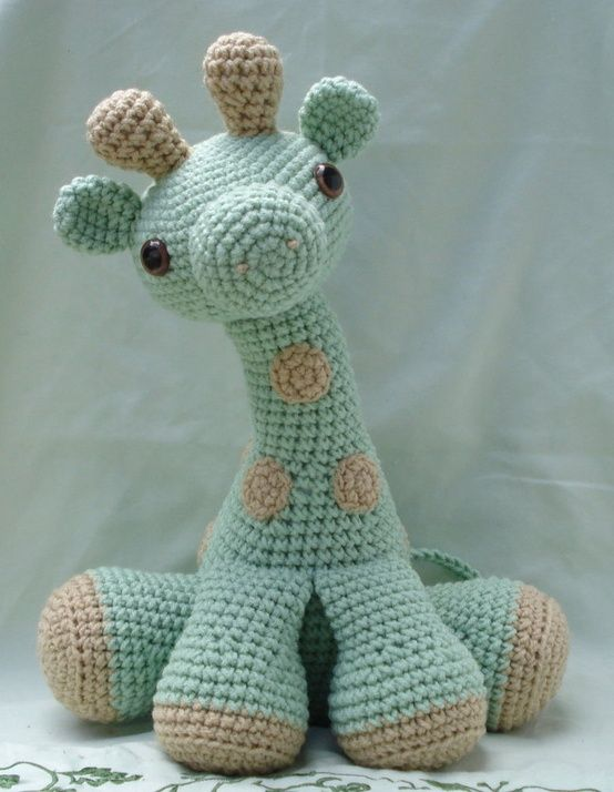Pin by Ira on Crochet | Crochet, Crochet giraffe pattern, Crochet