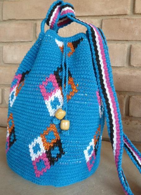 Crochet bag 14 u2013 Colores del Pueblo