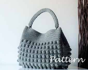 Crochet bag pattern | Etsy