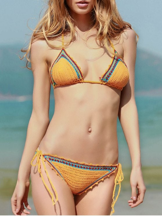 Crochet bathing suit for this summer