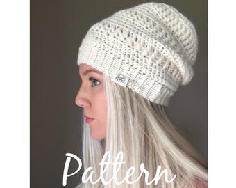Crochet beanie pattern   Etsy