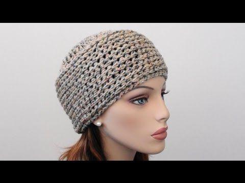 Crochet Beanie Hat by Crochet Hooks You - Simple & Easy (written