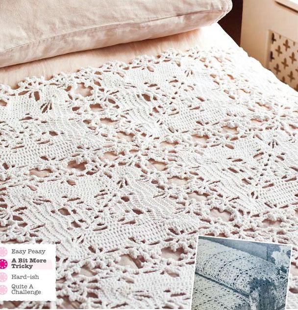 free crochet bedspread patterns Archives ⋆ Crochet Kingdom (2 free