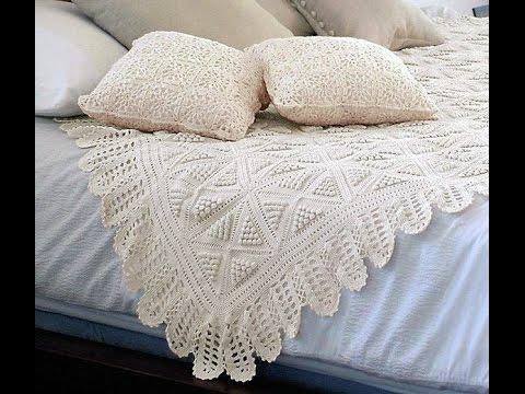 Crochet Patterns| for free |crochet bedspread| 1704 - YouTube