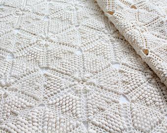Crochet bedspread | Etsy
