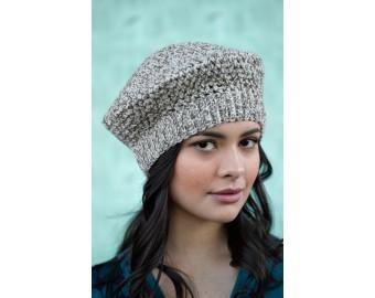 Tivoli Beret (Crochet) | Lion Brand Yarn