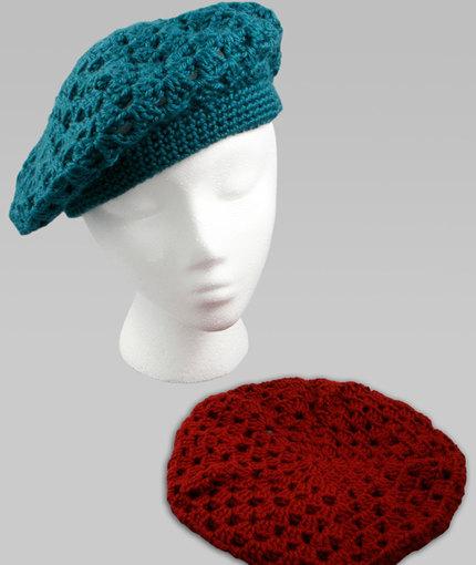 Crochet Beret | Red Heart