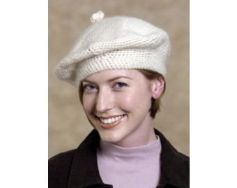 Crochet Beret Pattern | Lion Brand Yarn
