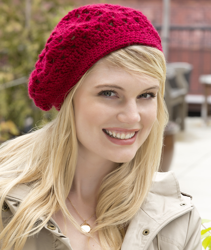 Bridgette Beret | Red Heart